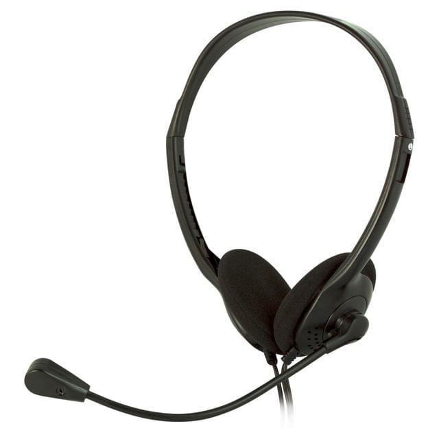 SENCOR   Stereo Headphones + Microphone   Black   SEP 252