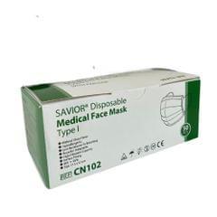 Savior | Disposable medical | Face mask | type l Four Layers