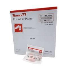 KMAXX 77 | Corded Foam Ear Plugs 100 Packets (200 pairs) | Orange | 18-EP-K