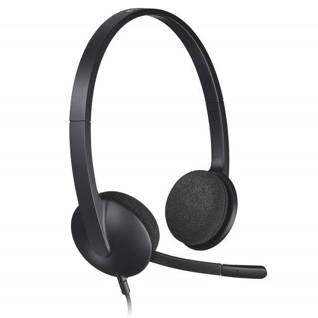 LOGITECH | Stereo Headset With Noise-Cancelling Mic | H340