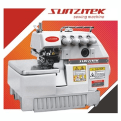 SUNZITEK | SZ- 757 |  High Speed Five Thread Overlock Sewing Machine