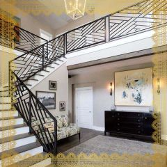 DECORATIVE STAIRS | INDOOR |AL SALAMA STEEL | AS07
