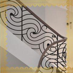 DECORATIVE STAIRS |  INDOORS |AL SALAMA STEEL | AS06