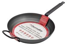 BROWNE | CARBON STEEL THERMALLOY FRY PAN | BLACK | 30 CM | 573742