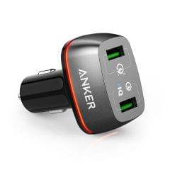 ANKER | PowerDrive+ 2 Ports | USB Car Charger | A2224