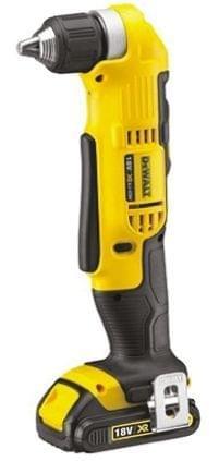 DEWALT | Cordless XR Li-Ion Right Angle Drill/Driver 10mm 18V | DCD740C1-GB