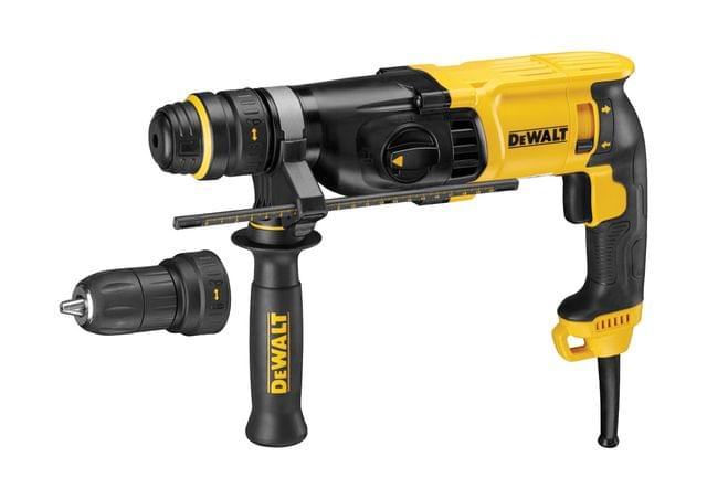 DEWALT | SDS Plus Rotary Hammer Drill With QCC 26mm | D25134K-B5