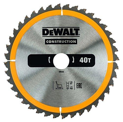 DEWALT   Circular Saw Blade – Dia 235 Bore 30 Atb 10Deg 40T   DT1955-QZ