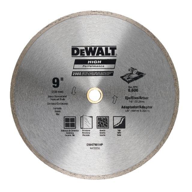 DEWALT   Continuous Rim 230 X 5 X 22.2mm   DW47901HP