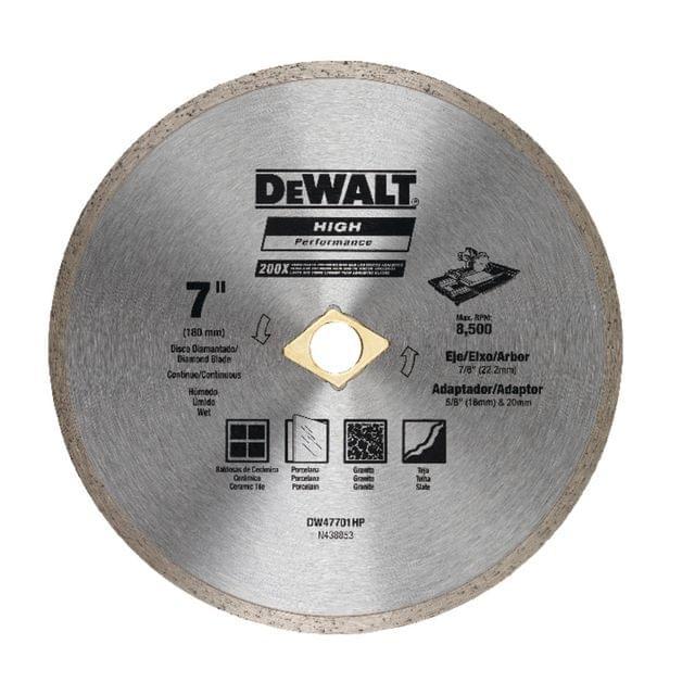 DEWALT | Continuous Rim 180 X 5 X 22.2mm | DW47701HP