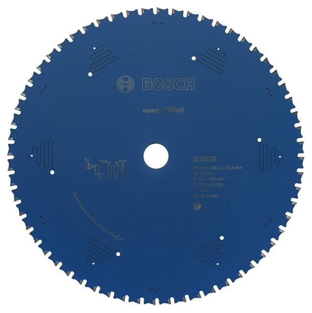 BOSCH | CSB Circular Saw Blade Expert for Steel 305 X 25.4 mm 60 T | BO2608643060