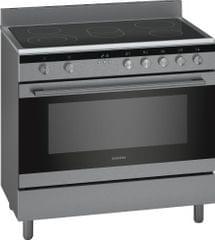 SIEMENS | Electric range cooker Stainless steel 90 CM | HK9K9V850M