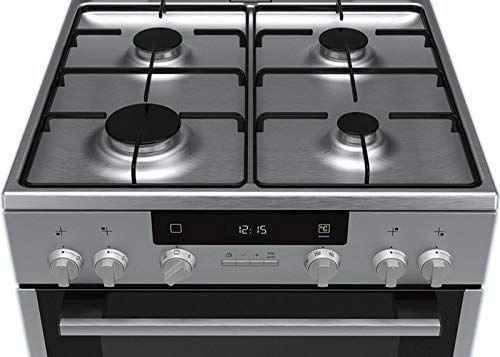 SIEMENS | Free-Standing Gas Cooker Stainless Steel | HX645535M