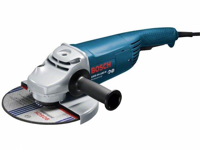BOSCH | Professional Angle Grinder | GWS 24-180 H | 2400 W | 5 KG | BO0601883103