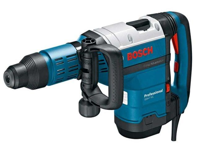 BOSCH | Demolition Hammer Drill With SDS-Max | Vibration Control | GSH 7 VC | 8.5 KG | 1.500 W | BO0611322070