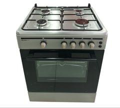 GENERAL COOL | COOKER CM 4 GAS BURNER + GAS OVEN | 600 X 600 MM | C60GS