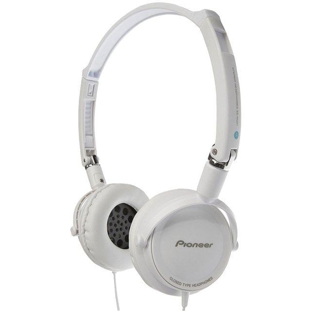 PIONEER | Stereo Headphone White | SE-MJ21-H