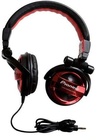 PIONEER | Headphones Fully-Enclosed Foldable Dynamic Red | SE-MJ551-R