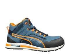 PUMA | Crosstwist Mid Urban Protect High Safety Shoes Blue | 633140