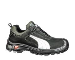PUMA | Cascades Low Scuff Caps Safety Shoes S3 HRO Black | 640720