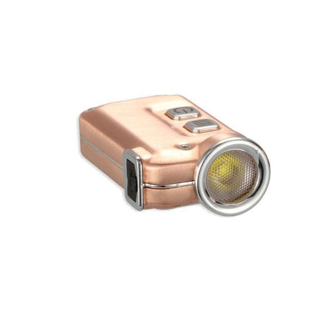 NITECORE | USB Rechargeable Super Mini Keychain EDC Flashlight Copper | TINI CU