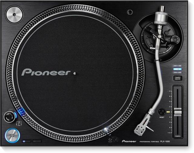 PIONEER | DJ Turntable (Without Cartridge) | High-Torque, Direct Drive | Black | PLX-1000-N