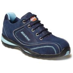 DICKIES | Womens Ottawa Safety Shoe Sizes 3-8 Navy Blue | FD13910