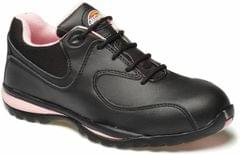 DICKIES | Womens Ohio Safety Trainer Sizes 3-8 Black&Pink | FD13905