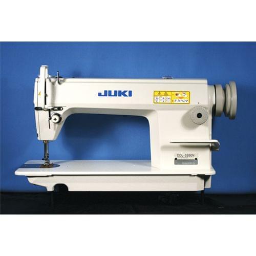 JUKI | High-Speed Single Needle Straight Lockstitch Industrial Sewing Machine | 400 W | DDL-5550N