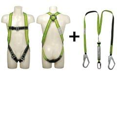VAULTEX | Listfull Body Harness With Twin Webbing Lanyard And Shock Absorber | MFK