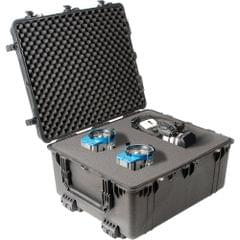 PELICAN | Transport Case with pick and pluck Foam Black | 1690-000-110