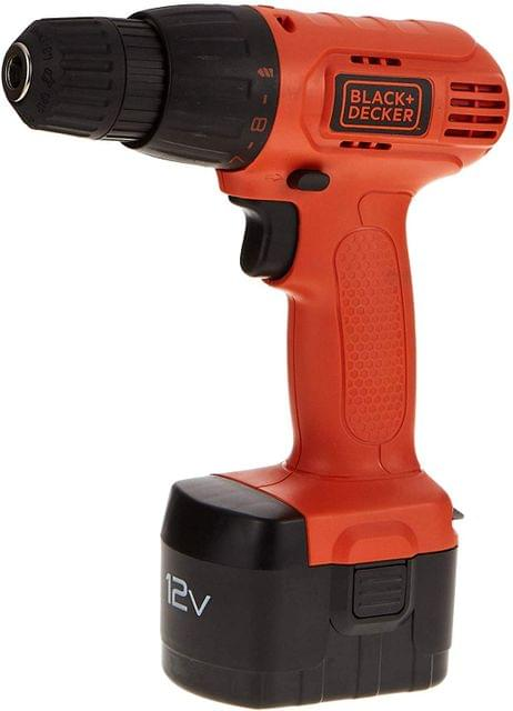 BLACK AND DECKER | CORDLESS DRILL DRIVER WITH 100 ACCESSORIES | 12V | CD12100KM-B5