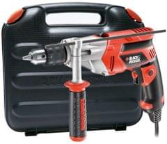 BLACK AND DECKER | HAMMER DRILL WITH REVERSE FUNCTION WITH CORD | 710 W | CD714REK-B5