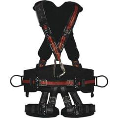 DELTA PLUS | Safety Harness | Black-Orange | GALAGO HAR35TCA