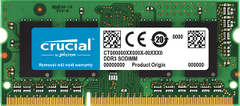 CRUCIAL   8GB DDR3L-1600 UDIMM   PC   CT102464BD160B