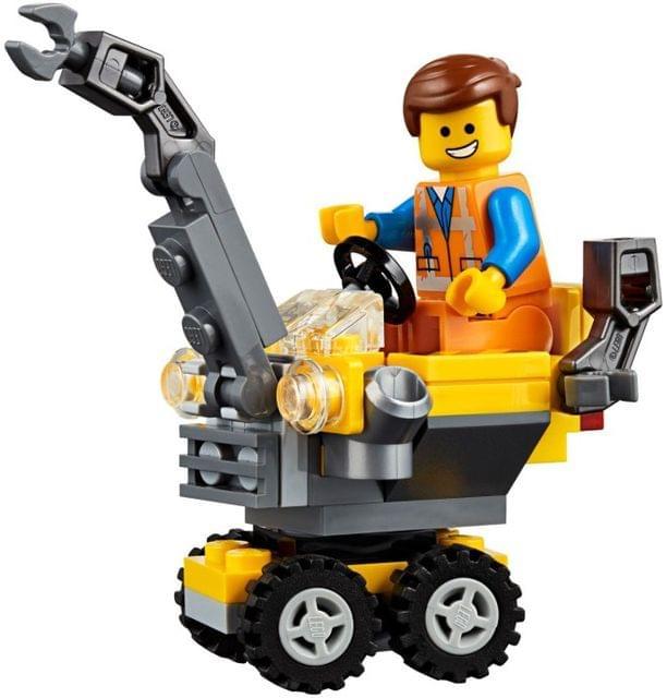 LEGO TOYS | MINI MASTER BUILDING EMMET | LEGO MOVIE 2 | AGE: 6+ | 30529