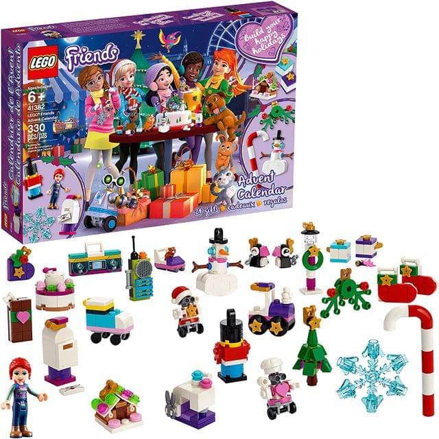 LEGO TOYS | Friends Advent Calender | Advent Calendar | AGE: 6+ | 41382