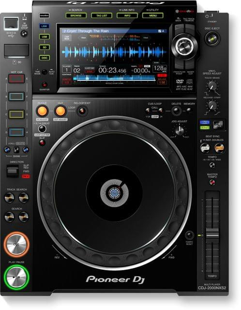 PIONEER | Pro-DJ Multi Player With High-Res Audio Support | CDJ-2000NXS2