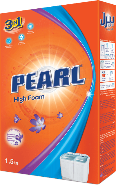 PEARL | Detergent High Foam | 1.5 Kg