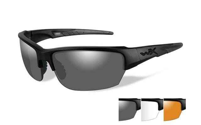 WILEY X | SAINT Grey/Clear/Light Rust Matte Black Frame | CHSA106-WX SAINT