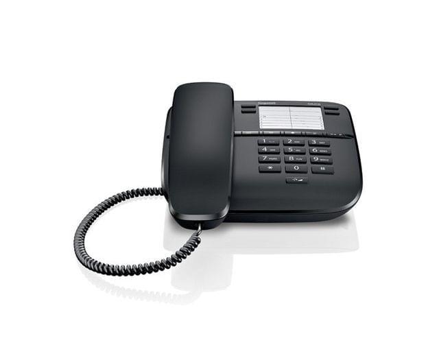 GIGASET | Corded Phone | Black | S30054-S6528-W101