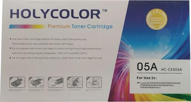 HOLY COLOR | Toner Cartridge | 05A | HC-CE505A | Black