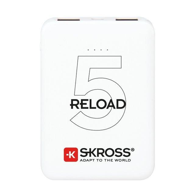 SKROSS | Power Bank Reload 5 | 5000mAh | White | 1400120