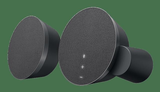 LOGITECH   MX Sound Premium Wireless Bluetooth Speakers   Black   980-001284