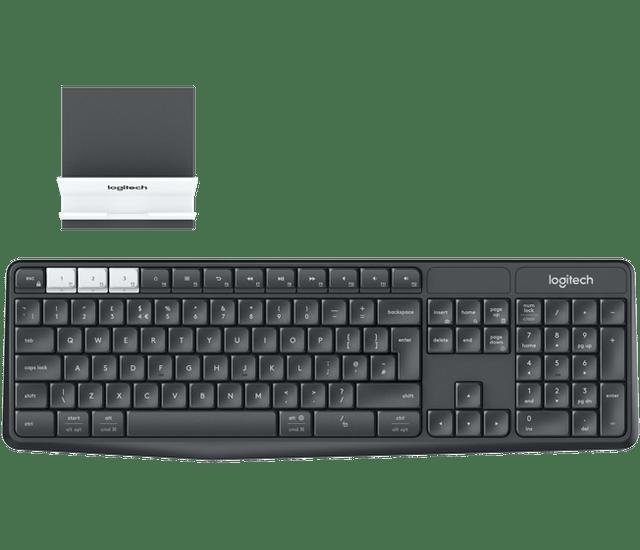 LOGITECH | K375S Wireless Multi-Device Keyboard | 2.4GHz | 920-008181