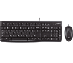 LOGITECH | MK120 Desktop Arabic Keyboard | Black | 920-002546