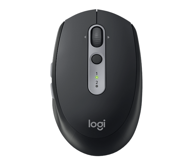 LOGITECH | M590 Silent Wireless Mouse With 2 Thumb Buttons | Graphite Tonal | 910-005197