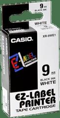 CASIO | Label Printer Tape | 9 mm | 70g | XR-9WE1-W-DJ1