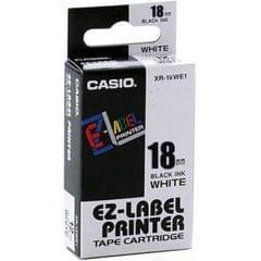 CASIO | Label Printer Tape | 18mm | White | XR-18WE1-W-DJ1