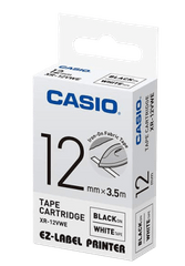 CASIO | Label Printer Tape | 12mm | 41g | XR-12VWE-W-DH